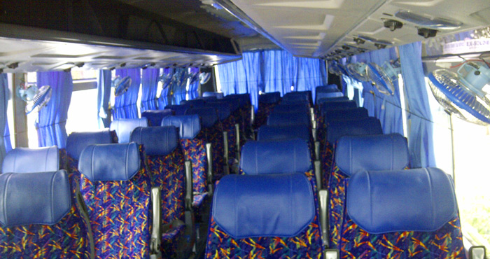 Inner View of Ashok Leyland Large Coach 39+2 Seater