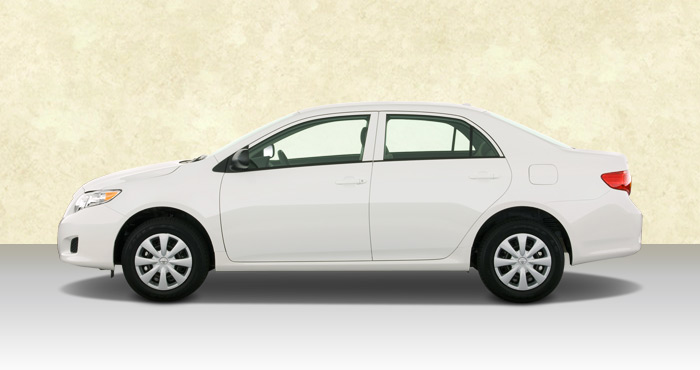 Hire Toyota Corolla 4+1 Seater from India Rental Cars