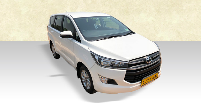 Hire Toyoyta Crista 7+1 Seater from India Rental Cars