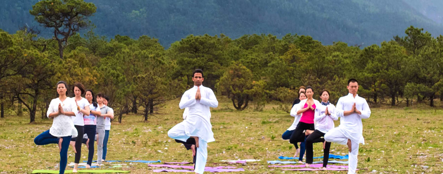 Yoga and Meditation in India